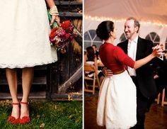bride red shoes - Buscar con Google