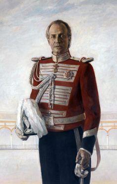 Juan Carlos I by Antonio Agudo (Spanish: 1940)