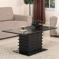 Modern Coffee Table Wood Contemporary Accent Decor Living Room Furniture New  #Doesnotapply #ContemporaryModern