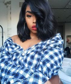 Hairstyles african american Wavy bob hairstyles with bangs wigs for black women human hair wigs lace front w. Wavy bob hairstyles with bangs wigs for black women human hair wigs lace front wigs african american women wigs black girl natural hairstyles Bob Hairstyles With Bangs, Girls Natural Hairstyles, Black Girls Hairstyles, Wig Hairstyles, Hairstyles 2018, Hairstyle Ideas, Ethnic Hairstyles, Spring Hairstyles, Style Hairstyle