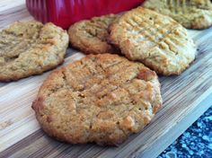 Low Carb Peanut Butter Cookies - 3 net carbs - you can substantially lower this count by replacing the brown sugar splenda with an alternative sweetener or by using PB2 instead of peanut butter (see PB2 here http://www.netrition.com/bell_plantation_pb2.html