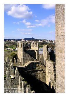 Guimaraes Castle, Guimaraes, Braga - Portugal