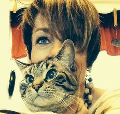 Me and Athena, my Lynx Point Siamese.