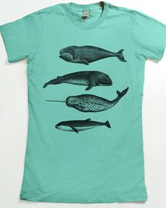 Whale shirt - Women's Narwhal T-shirt - Whale Graphic Tee for women