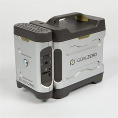 Goal Zero solar power pack - replace the generator with solar power