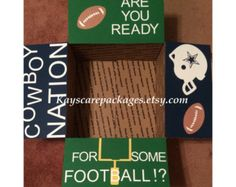 Football care package flaps