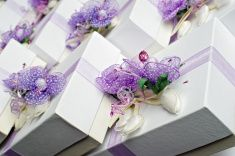 Wedding Guests Gift stock photo
