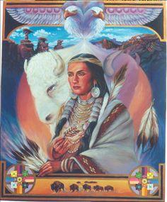 Buffalo Woman by sami-edelstein