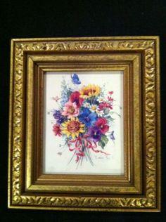 1 Floral Picture - Artist Barbara Mock
