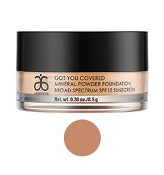 Got You Covered Mineral Powder Foundation Broad Spectrum SPF 15 Sunscreen, Beige from Arbonne
