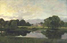 John Constable, 'Malvern Hall, Warwickshire' 1809
