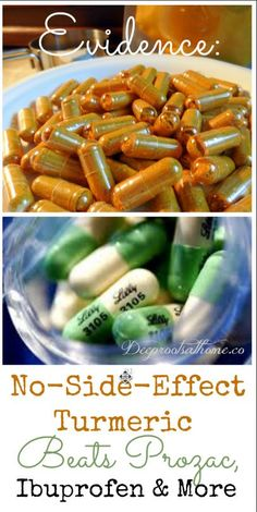 Turmeric supplements offer anti-inflammatory effects and truly amazing Alzheimer-prevention powers. It is also a painkiller and natural mood elevator of the first order! Evidence: No-Side-Effect Turmeric Beats Prozac, Ibuprofen & More - Deep Roots at Home Natural Medicine, Herbal Medicine, Herbal Remedies, Health Remedies, Arthritis Remedies, Holistic Remedies, Cold Remedies, Natural Cures, Natural Health
