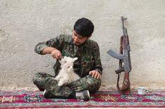 https://flic.kr/p/pzurmT | Kurdish YPG Fighter