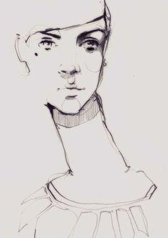 Sketch https://www.behance.net/gallery/18176627/SKETCHES-2012-2014