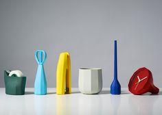 El diseñador con base en Londres, Samuel Wilkinson, diseñó un set de 6 piezas de…