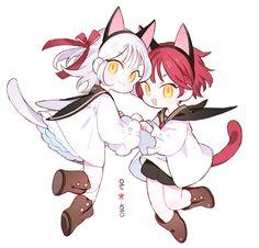 On and Hong Chibi Manga, Naruto Chibi, Cute Anime Chibi, Cartoon Kunst, Anime Kunst, Cartoon Art, Anime Art, Kawaii Drawings, Cute Drawings