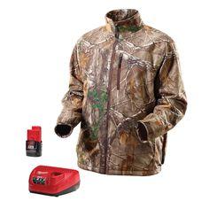 12-Volt Cordless Realtree Xtra® Camo Heated Jacket Kit– Small, Medium, Large, XL, 2X, 3X | Milwaukee Tool