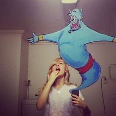 Mirrorsme Takes Creative Selfies Using Her Incredible Art Skills #selfie #photography trendhunter.com