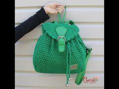 Bolso redondo tejido a crochet muy fácil! - YouTube