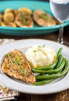 Lemon Thyme Pan Seared Turkey Breast Cutlets ~ https://FlavorMosaic.com