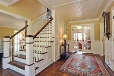 Best Center Hall Colonial Stairs Opened Up Floor Plan In 400 x 300