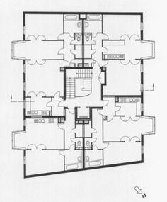 Architectural Drawings, Models, Photos, etc. Plans Architecture, Residential Architecture, Architecture Design, The Plan, How To Plan, Modular Floor Plans, Floor Plan Layout, Loft Interiors, Site Plans