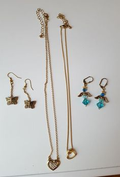 "Hand made and costume jewelry incl 26 necklaces up to 16""L and 5 pr earrings. Many pcs hand crafted, mostly one-of-a kind pcs by a local artisan."
