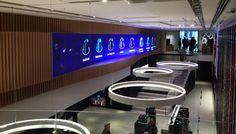 La nueva flagship de #Nespresso en Barcelona se diseña en torno a una gran pantalla curva de Led Dream - Contenido seleccionado con la ayuda de http://r4s.to/r4s