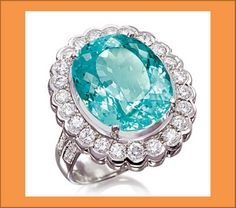 PARAÍBA - Paraiba tourmaline is used by Brazilian brands Arrigoni, Amsterdam Sauer and H. Stern, in addition to international Dior and Tiffany & Co UK.