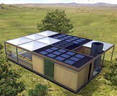 Nexushaus is an amazing and cheap solar living home that is water independent