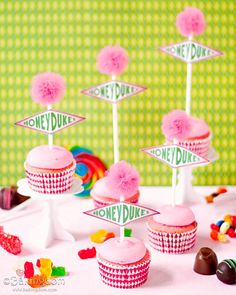 Candyfloss Cupcakes