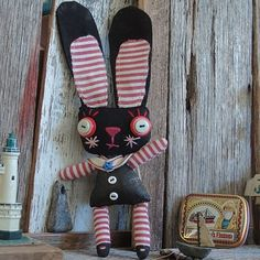 bunny + other cuties (circus elephant, deer, etc) through the link ~ created by Marie