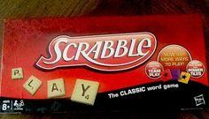 5eb287350ea1 Scrabble Board Game 2012 Hasbro Word Game Complete