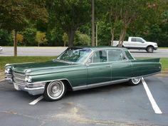 1963 Cadillac Fleetwood.