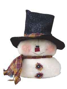 Easy to Sew Snowman Sewing Pattern | Patterns for the Holidays