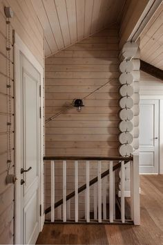 This beautiful log cabin style farmhouse was designed in 2013 by I. Interior Design, located in the sprawling countryside of Moscow, Russia. Cabin Style Homes, Log Homes, Chalet Style, Log Home Interiors, Rustic Interiors, Country Farmhouse Decor, Country Living, Wooden House, New Home Designs