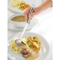 We love making serving easy! -WMF Profi Plus Pouring Ladle.