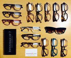 d32d50bf2c Entourage of 7 in Magnussen Optik Copenhagen. Eyewear Coaching