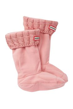 c3177baba7 Cable Knit Cuff Welly Socks (Little Kid   Big Kid) Fleece Socks