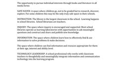 School Library Story joyce kasman valenza  I want to tell you the story of a crisis that has been too quiet for too long.    In many of our cities and rural areas and in some of our suburbs, school districts are balancing their budgets by eliminating school librarians and school library programs....