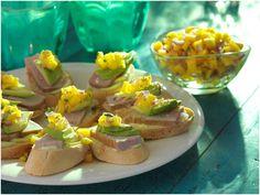 Ahi Tuna, Avocado and Mango Salsa Sandwich | Udi's® Gluten Free Bread