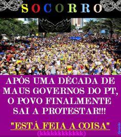 Sala Fério: SOCORRO: VAMOS PROTESTAR!!!