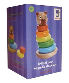 Look what I found on #zulily! Brilliant Bear Magnetic Stack-up Set by Manhattan Toy #zulilyfinds