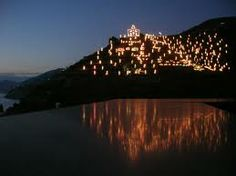 Il magico presepe illuminato di Manarola!