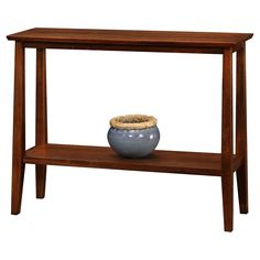 Leick Delton Hall Stand Console Table From