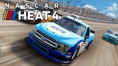 More NASCAR Heat! Trying harder difficulty settings and still learning to turn left. Bad NASCAR driving and crashes ahead! No commentary. To. Nascar Heat, Try Harder, Try Again, Channel, Youtube, Youtubers, Youtube Movies