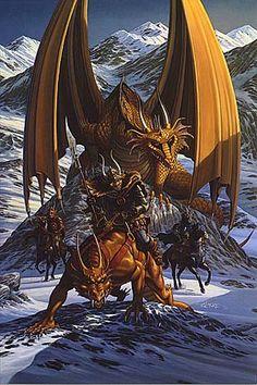 Larry Elmore fantasy art