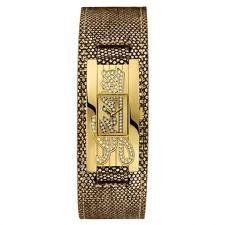 Guess Mini Autograph Ladies Metallic Gold Leather Watch U95171L3