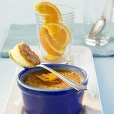Orange-Infused Flan Recipe
