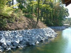 Rip rap is the placement of large rocks or coarse stone along the granite rip rap erosion control kroeger marine construction solutioingenieria Image collections